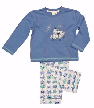Boys Robot/Alien Pyjama LAST ONE AGE 4-5 YEARS