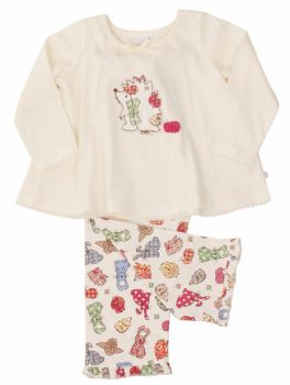 Hedgehog Woodland Animal Pyjamas ONLY AGE 3-4 LEFT
