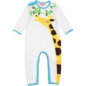 Unisex Giraffe Babygrow