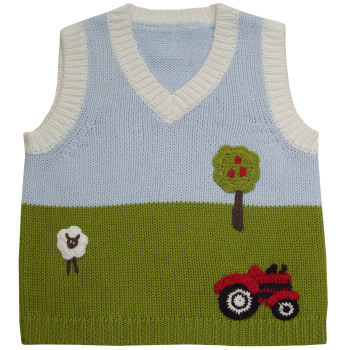 Farmyard Knitted Tank-top