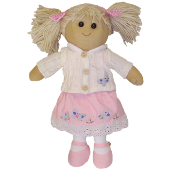 New - Cardigan Rag Doll