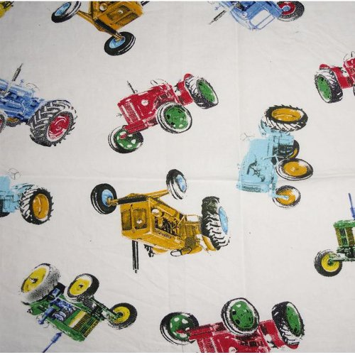 NEW - Vintage Tractor Fabric