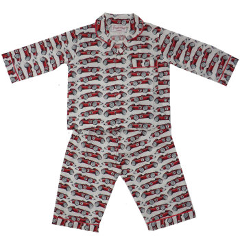 James Vintage Racing Car Boys Pyjamas