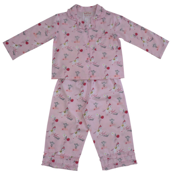 Girls Traditional Pony Pyjamas Powell Craft Little Pjs