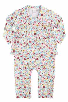 NEW - Baby Girls Mock Pyjamas - Ditsy Floral