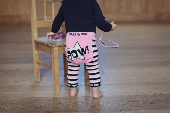 Blade and Rose - POW Baby Girls Leggings