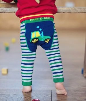 Blade and Rose Tractor Baby Leggings