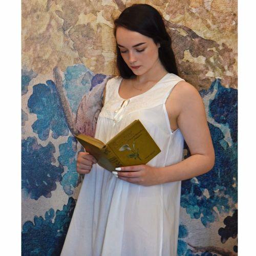 7a8c9167ae Ladies Sleeveless Cotton Nightdress - Nora