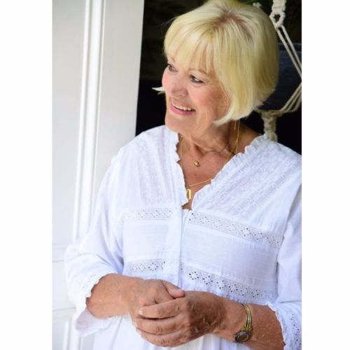 a40914be3b Elizabeth Ladies White Cotton Long Sleeved Nightdress