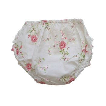 NEW 2017 - Baby Girls Rose Floral Frilly Knickers