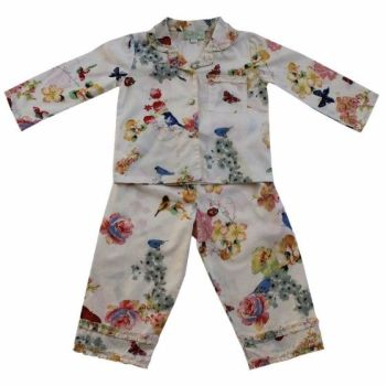 NEW 2017 - Girls Cotton Pyjamas Secret Garden design - Ada