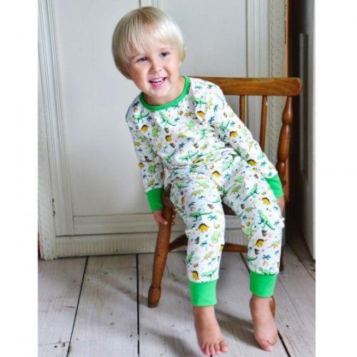 NEW 2017 - Dinosaur Pyjamas - Cosy Skinny Fit