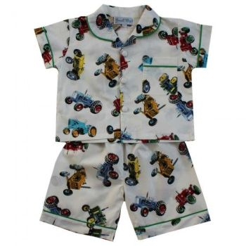 Tractor Short Pyjamas
