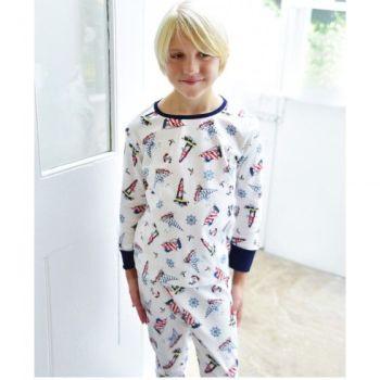 Nautical Skinny Pyjamas