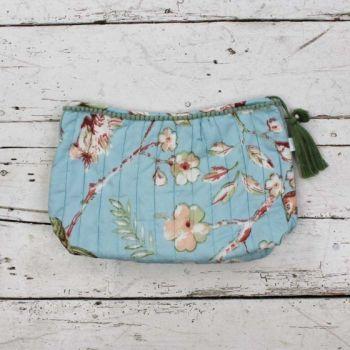 Blue Blossom Wash Bag