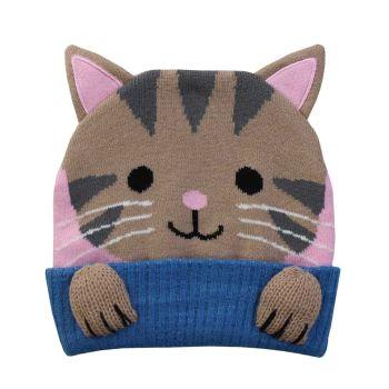 Cat/Kitten Knitted Hat