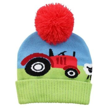 Tractor Knitted Hat