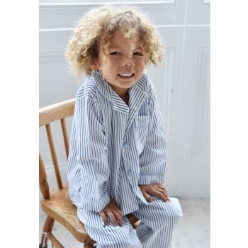 Roger Boys Blue/White Striped Pyjamas