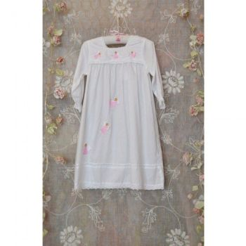 Fairy Long Sleeved Cotton Nightdress - Maddy