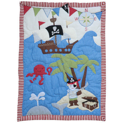 Pirate Cot Quilt
