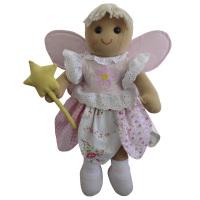 Fairy Ragdoll - Handmade fabric ragdoll