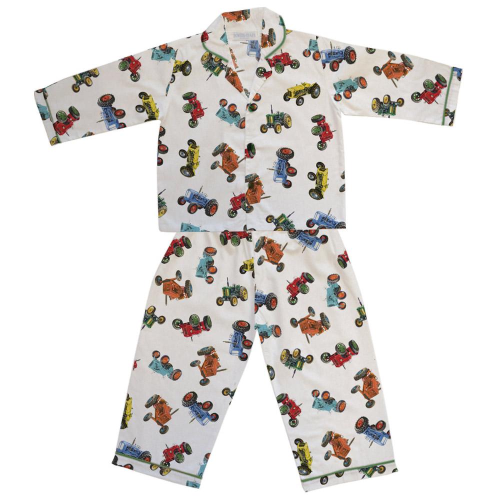 Tractor Pyjamas Boys Pyjamas Powell Craft Little Pjs