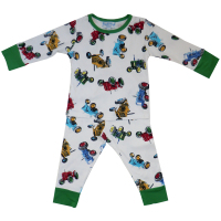 Boys Tractor Jersey Cotton Skinny Fit Pyjamas