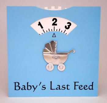 Blue Baby Feeding Wheel