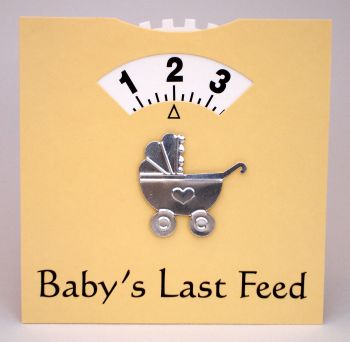 Lemon Baby Feeding Wheel Card