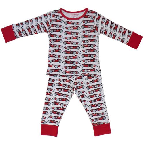 Vintage Red Racing Car Pyjamas