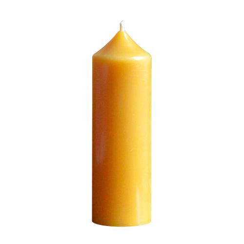Beeswax church candle