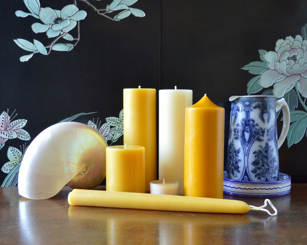 how to use beeswax candles