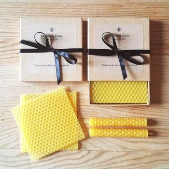 Beeswax candle kits