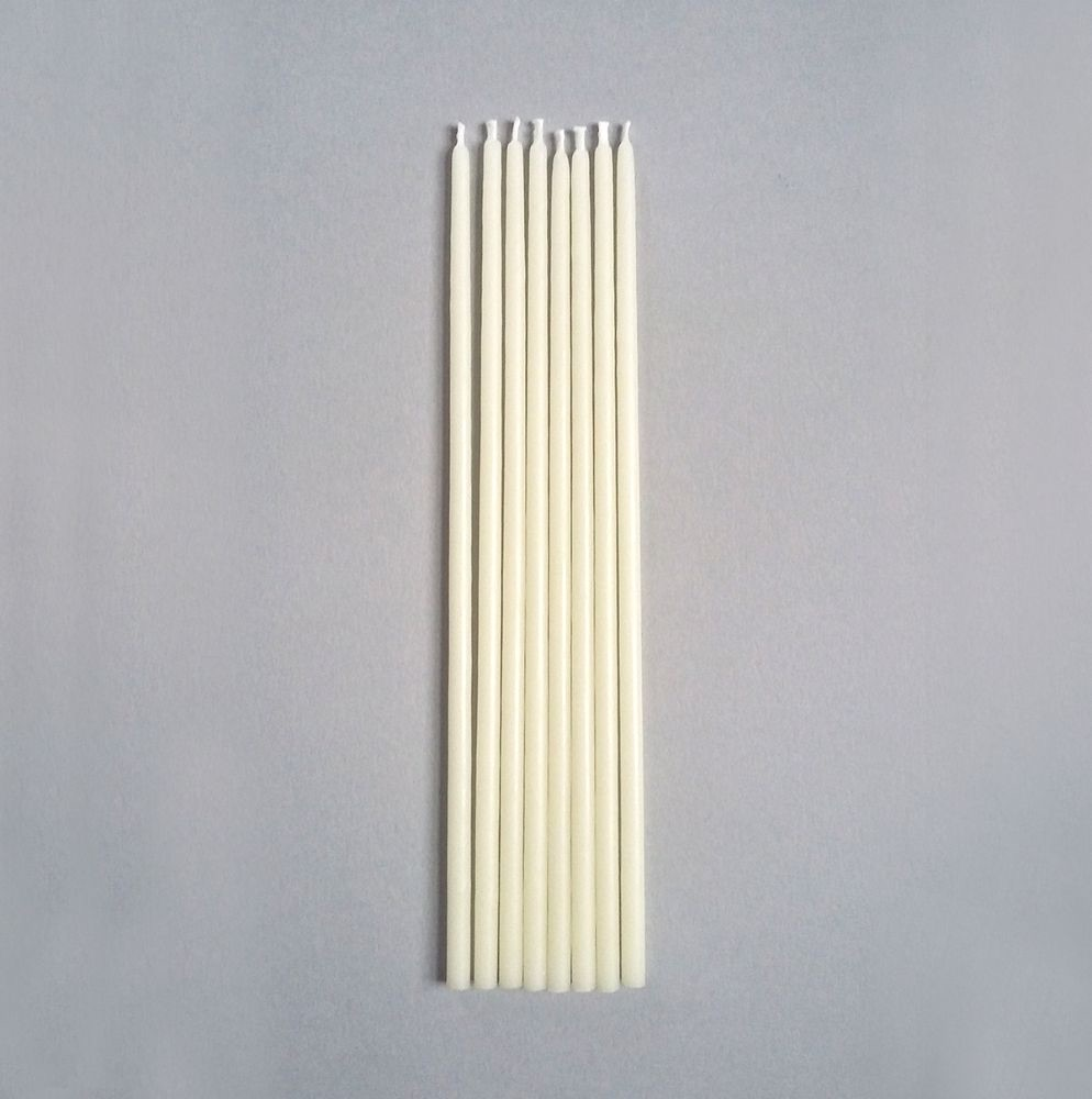 <!-- 011 -->SLIM IVORY TAPERS