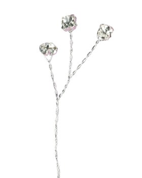 Silver Colour Diamante Branch
