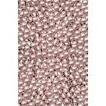 Pink Metallic Dragees 4mm - 25g