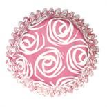 Petal Roses Printed Baking Cases