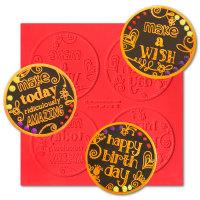 Make A Wish ChocArt Disc Silicon Mat