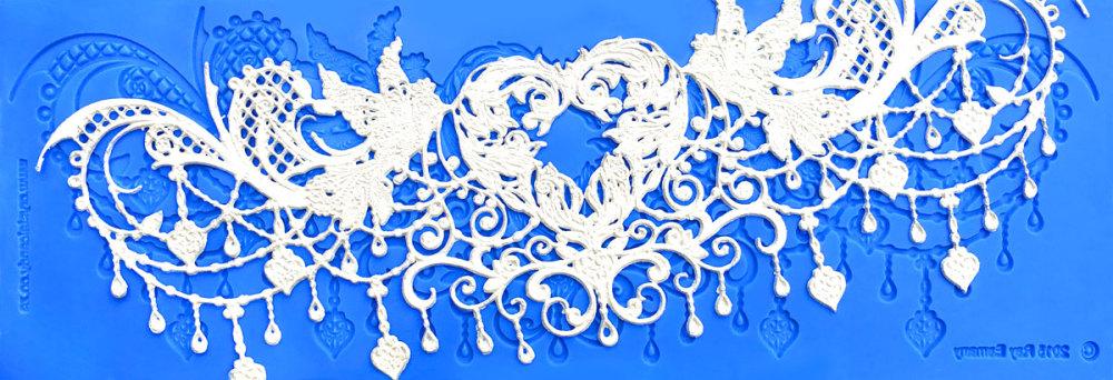 chandelier-love-mat-&-lace-web use