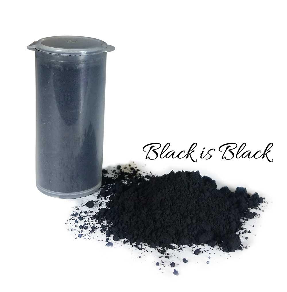 So Intense: Black is Black