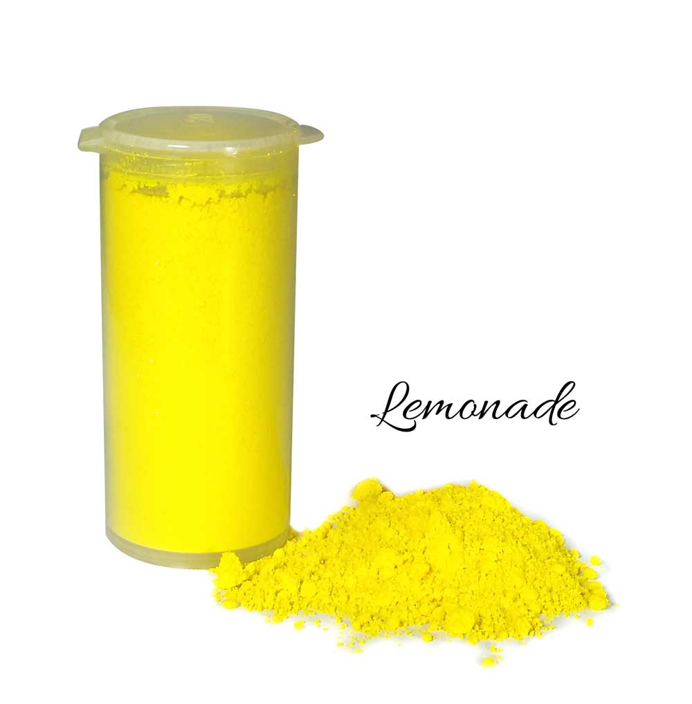 So Intense Coloured Powders: Lemonade