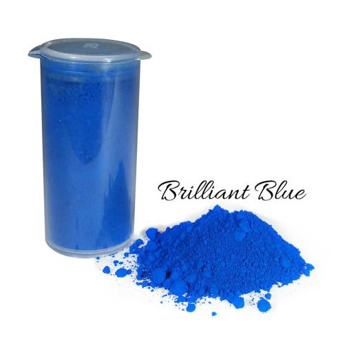 So Intense Coloured Powders: Brilliant Blue