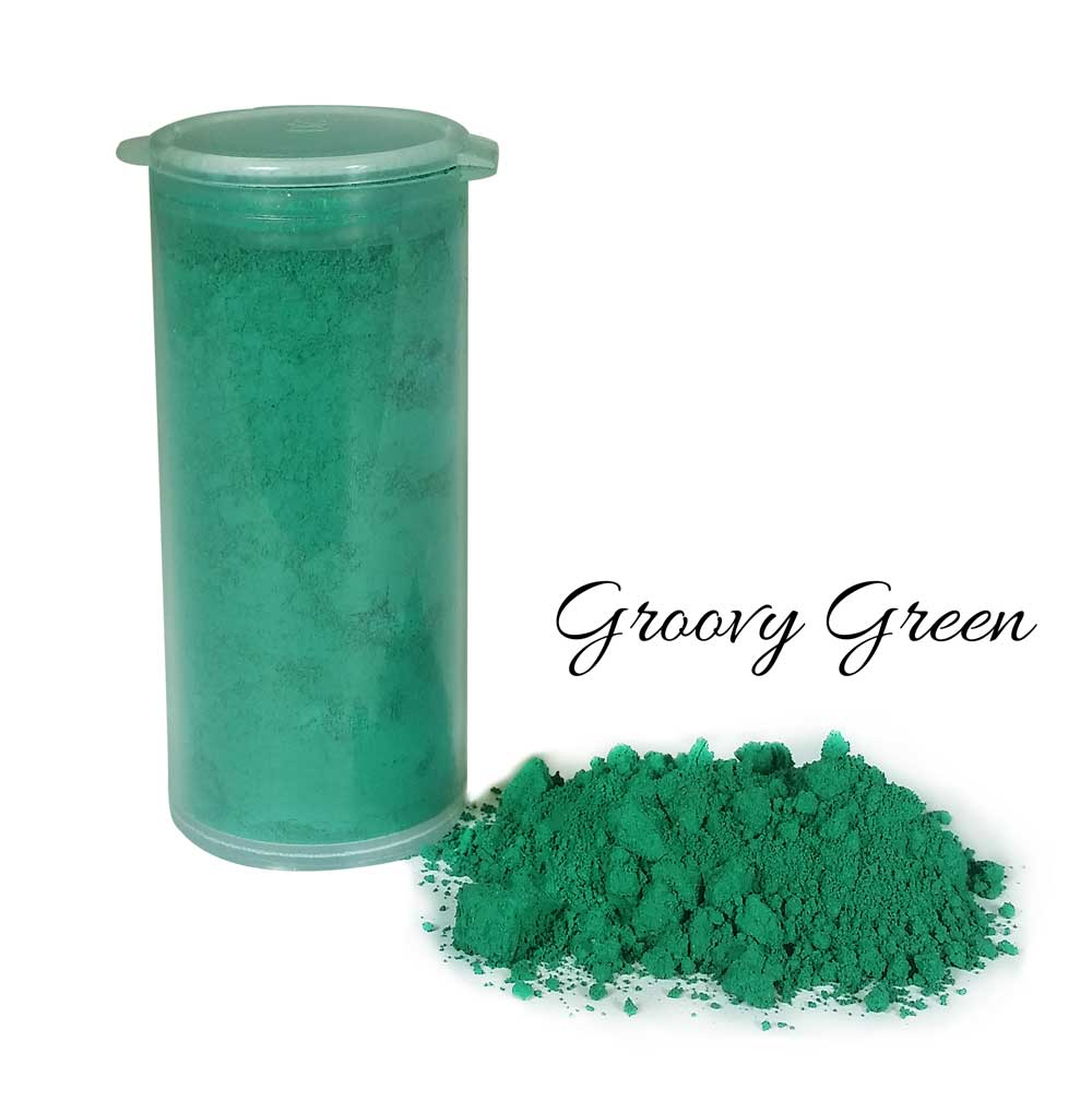 So Intense Coloured Powders: Groovy Green