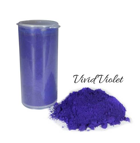 So Intense Coloured Powders: Vivid Violet