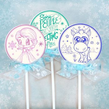 icy lollypops