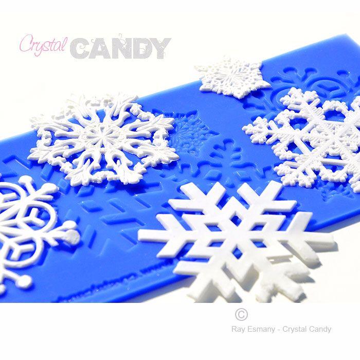 CakeArt Platinum: Snowflakes