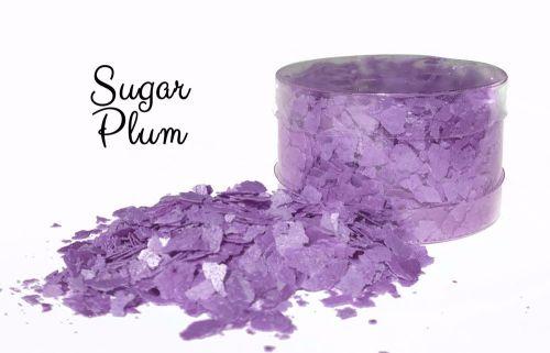 Edible Flakes: Sugar Plum