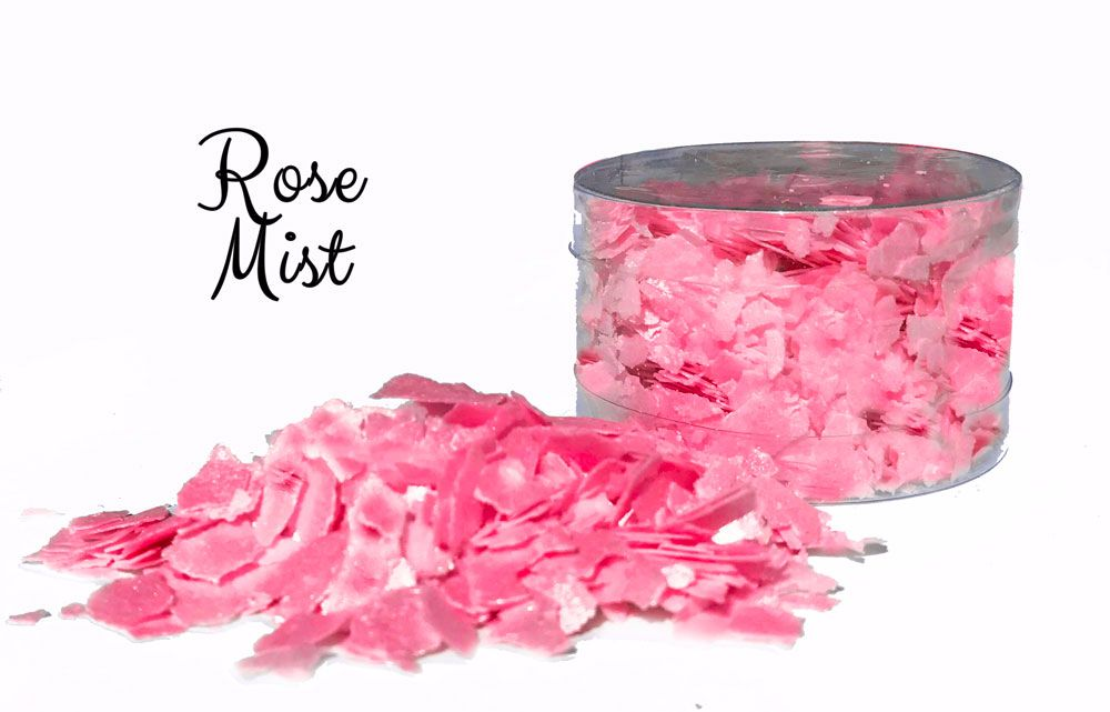 Edible flakes: Rose Mist