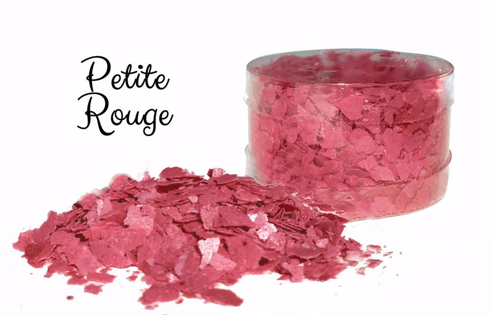 Edible Flakes: Petite Rouge