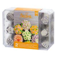 12 DECORA DIRECT FLOWERS NOZZLES BOX SET - NR. 2, 2 units @ £17.85 per unit.